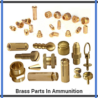 Brass Parts In Ammunition
